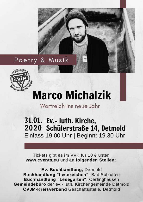Marco Michalzik - Poetry & Musik