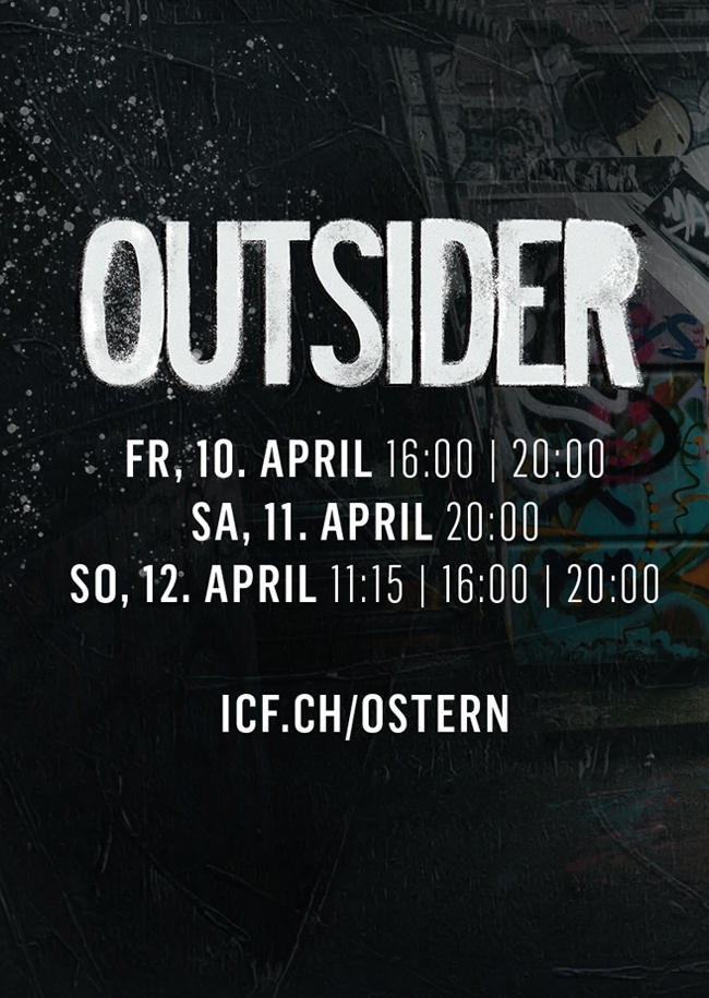ICF Oster Musical 2020 - OUTSIDER