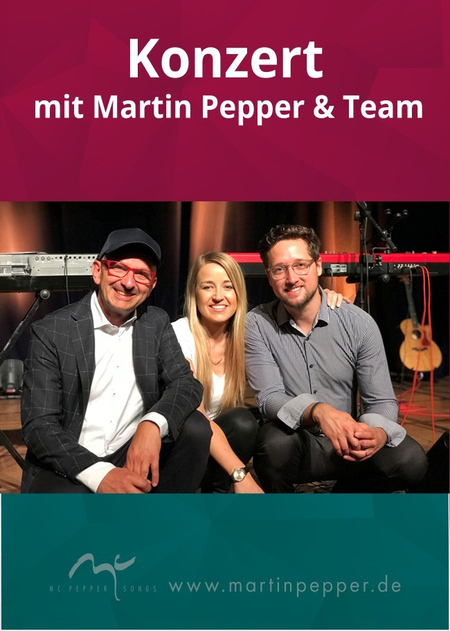 Martin Pepper & Team live