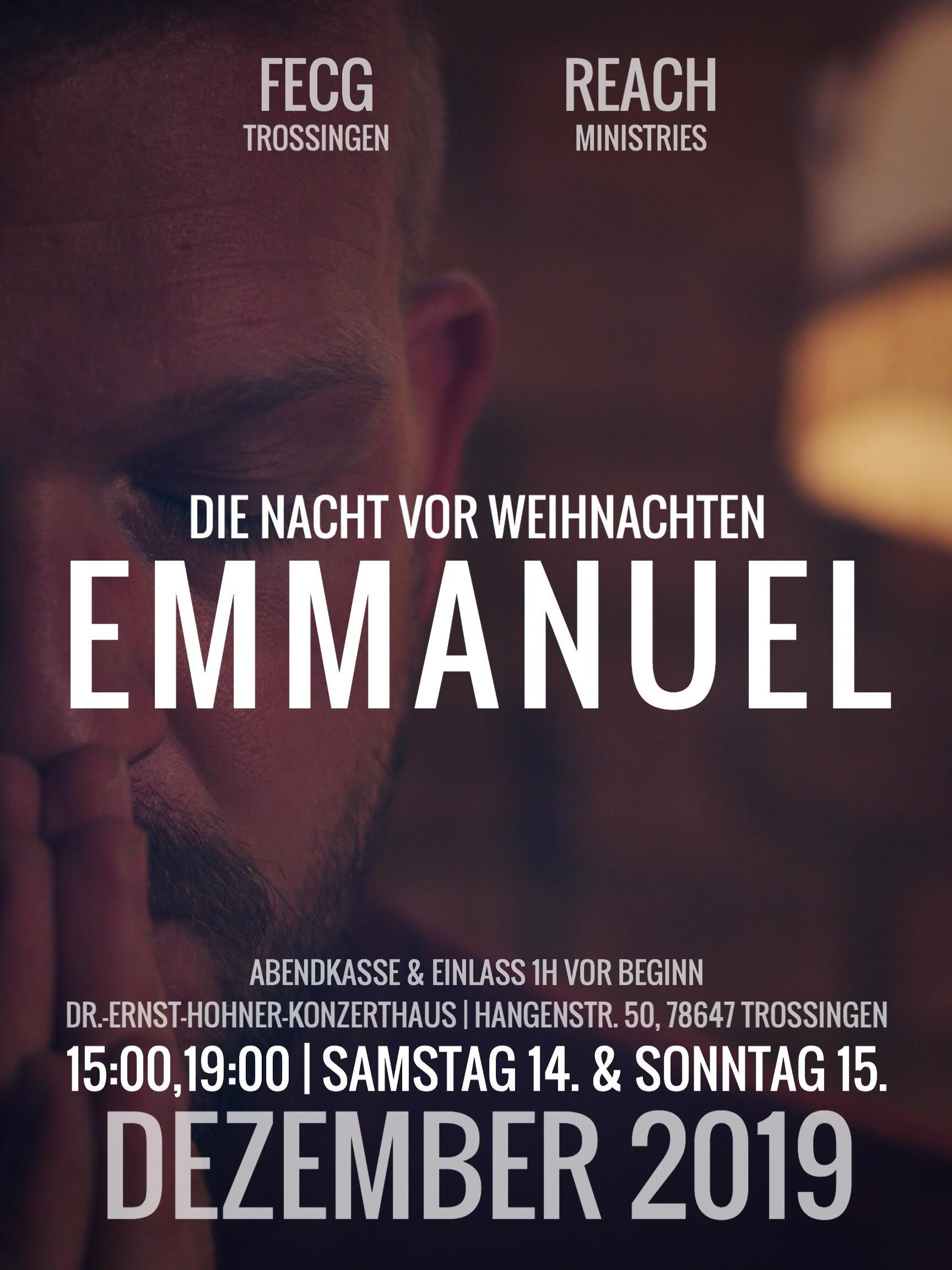 EMMANUEL - Samstag 15:00 Uhr