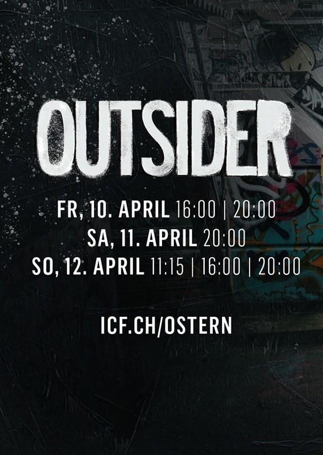 ICF Oster Musical 2020 - OUTSIDER - Freitag 16 Uhr