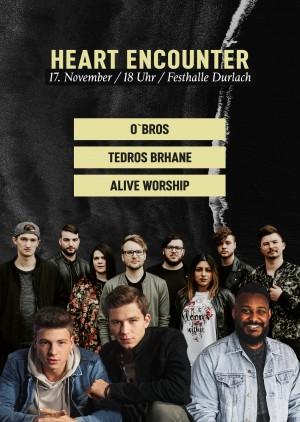 Heart Encounter | mit O´Bros und Alive Worship