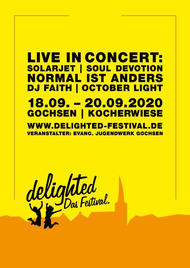 delighted - Das Festival. 2020